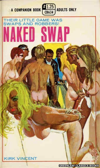 Companion Books CB634 - Naked Swap by Kirk Vincent, cover art by Robert Bonfils (1969)