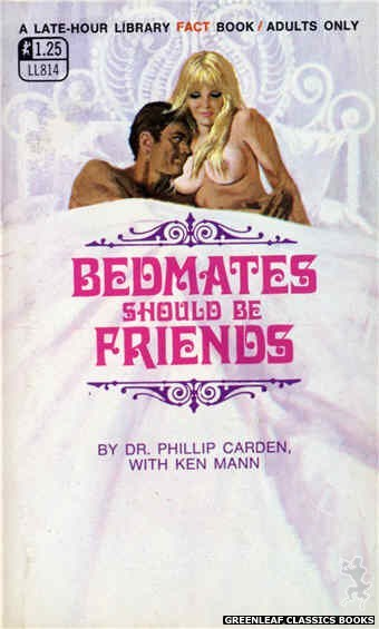 Late-Hour Library LL814 - Bedmates Should Be Friends by Dr. Phillip Carden, cover art by Robert Bonfils (1969)