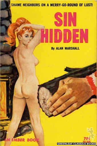 Ember Books EB938 - Sin Hidden by Alan Marshall, cover art by Unknown (1964)