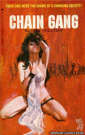 Ember Library EL 307 - Chain Gang by Don Holliday, cover art by Robert Bonfils (1965)
