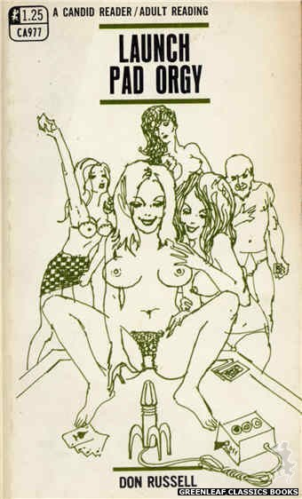 Candid Reader CA977 - Launch Pad Orgy by Don Russell, cover art by Harry Bremner (1969)