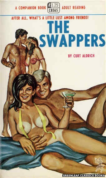 Companion Books CB565 - The Swappers by Curt Aldrich, cover art by Ed Smith (1968)
