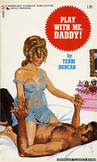 Nitime Swapbooks NS521 - Play With Me, Daddy! by Terri Duncan, cover art by Robert Bonfils (1973)