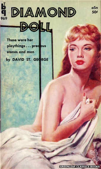 Bedside Books BTB 969 - Diamond Doll by David St. George, cover art by Unknown (1960)