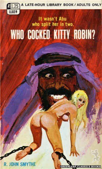 Late-Hour Library LL839 - Who Cocked Kitty Robin? by R. John Smythe, cover art by Robert Bonfils (1969)