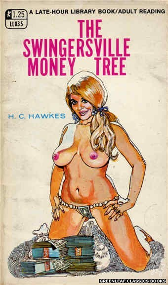 Late-Hour Library LL835 - The Swingersville Money Tree by H.C. Hawkes, cover art by Unknown (1969)