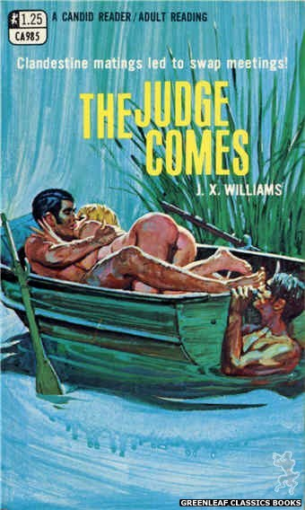Candid Reader CA985 - The Judge Comes by J.X. Williams, cover art by Robert Bonfils (1969)