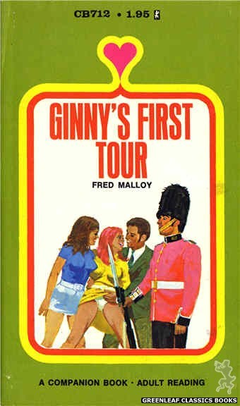 Companion Books CB712 - Ginny's First Tour by Fred Malloy, cover art by Unknown (1971)