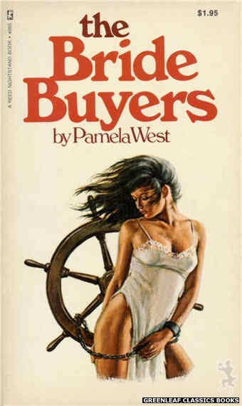 Reed Nightstand 4065 - The Bride Buyers by Pamela West, cover art by Ed Smith (1974)