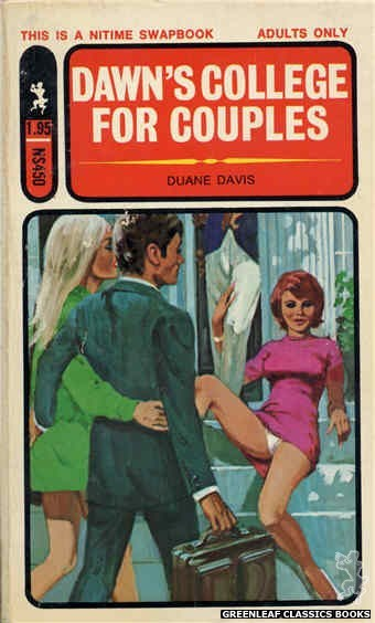 Nitime Swapbooks NS450 - Dawn's College For Couples by Duane Davis, cover art by Unknown (1971)
