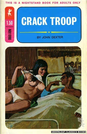 Nightstand Books NB1990 - Crack Troop by John Dexter, cover art by Unknown (1970)