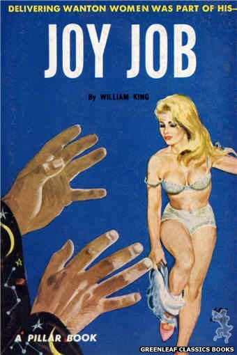 Pillar Books PB811 - Joy Job by William King, cover art by Robert Bonfils (1963)