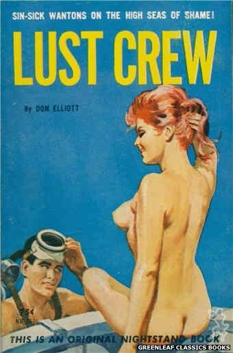Nightstand Books NB1648 - Lust Crew by Don Elliott, cover art by Robert Bonfils (1963)