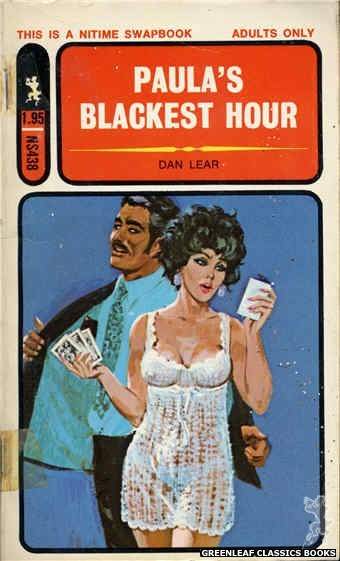 Nitime Swapbooks NS438 - Paula's Blackest Hour by Dan Lear, cover art by Robert Bonfils (1971)
