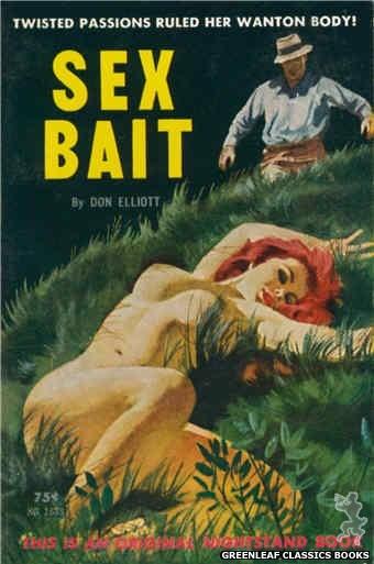 Nightstand Books NB1638 - Sex Bait by Don Elliott, cover art by Robert Bonfils (1963)
