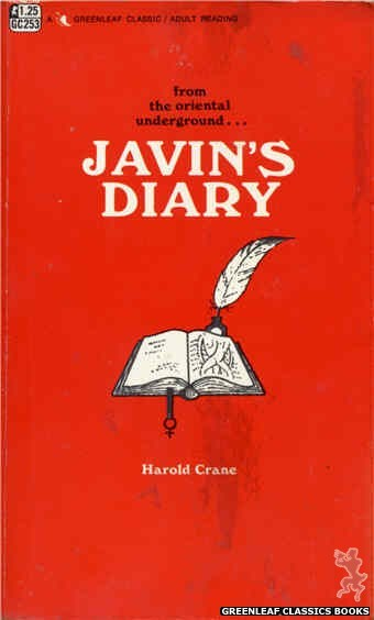 Greenleaf Classics GC253 - Javin's Diary by Harold Crane, cover art by Unknown (1967)