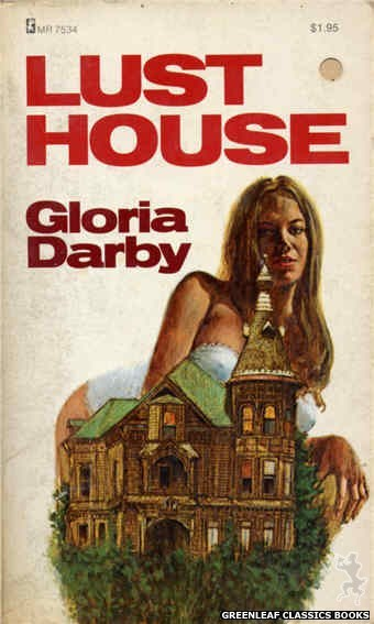 Midnight Reader 1974 MR7534 - Lust House by Gloria Darby, cover art by Unknown (1974)