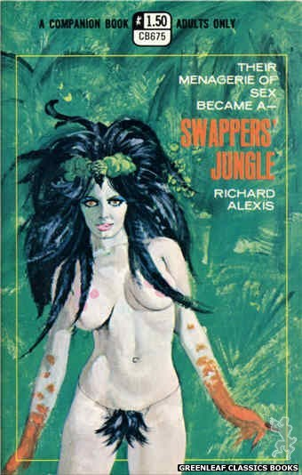 Companion Books CB675 - Swappers' Jungle by Richard Alexis, cover art by Robert Bonfils (1970)