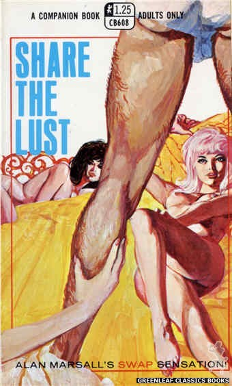 Companion Books CB608 - Share the Lust by Alan Marshall, cover art by Unknown (1969)