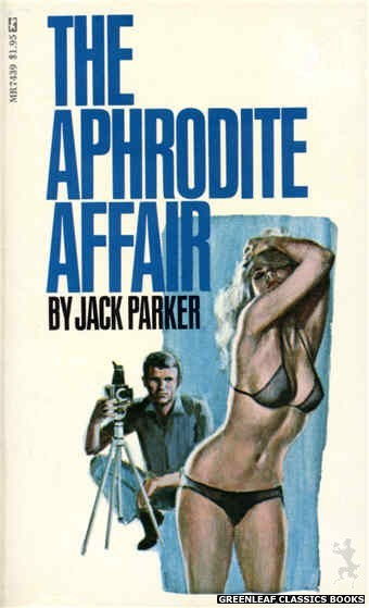 Midnight Reader 1974 MR7439 - The Aphrodite Affair by Jack Parker, cover art by Unknown (1974)