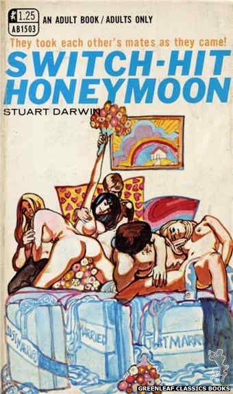Adult Books AB1503 - Switch-Hit Honeymoon by Stuart Darwin, cover art by Unknown (1969)