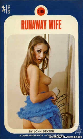 Companion Books CB755 - Runaway Wife by John Dexter, cover art by Photo Cover (1972)
