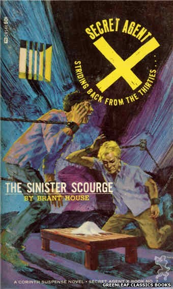 Corinth Regency CR146 - The Sinister Scourge by Brant House, cover art by Darrel Millsap (1966)