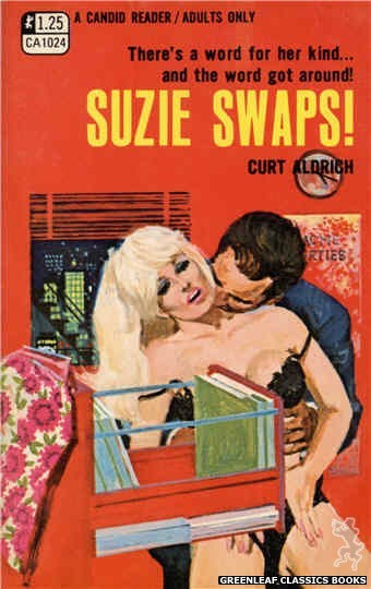 Candid Reader CA1024 - Suzie Swaps! by Curt Aldrich, cover art by Darrel Millsap (1970)