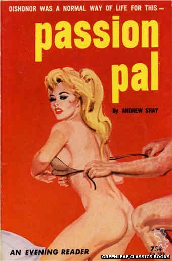 Evening Reader ER733 - Passion Pal by Andrew Shay, cover art by Robert Bonfils (1964)