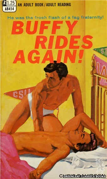 Adult Books AB454 - Buffy Rides Again! by Chris Davidson, cover art by Darrel Millsap (1968)