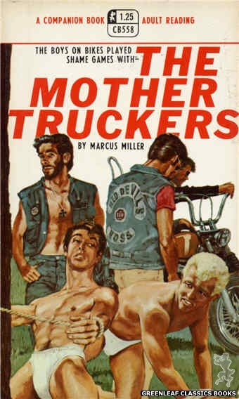 Companion Books CB558 - The Mother Truckers by Marcus Miller, cover art by Darrel Millsap (1968)
