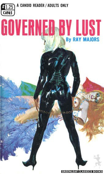 Candid Reader CA965 - Governed By Lust by Ray Majors, cover art by Robert Bonfils (1969)