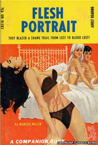 Companion Books CB516 - Flesh Portrait by Marcus Miller, cover art by Darrel Millsap (1967)