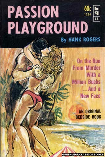 Bedside Books BB 1234 - Passion Playground by Hank Rogers, cover art by Unknown (1962)