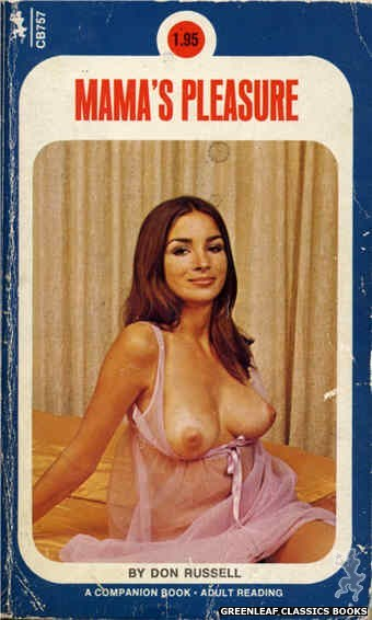 Companion Books CB757 - Mama's Pleasure by Don Russell, cover art by Photo Cover (1972)