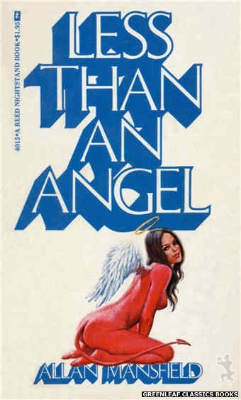 Reed Nightstand 4015 - Less Than An Angel by Allan Mansfield, cover art by Ed Smith (1974)