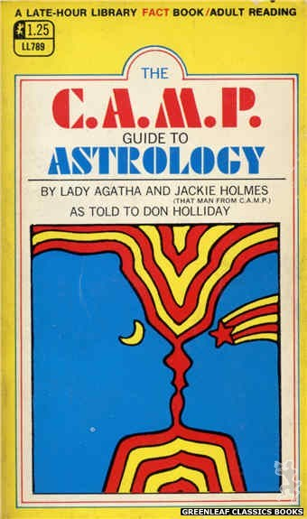 Late-Hour Library LL789 - The C.A.M.P. Guide To Astrology by Don Holliday, cover art by Unknown (1968)
