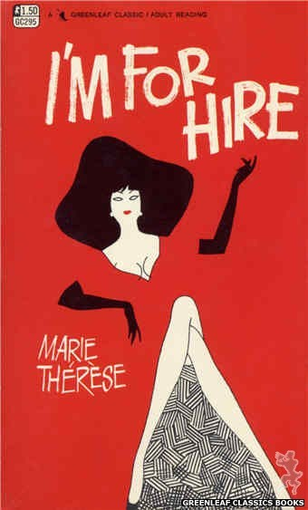 Greenleaf Classics GC295 - I'm For Hire by Marie Therese, cover art by Unknown (1968)