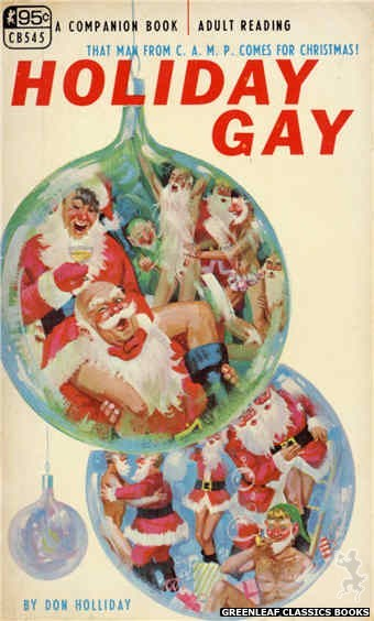 Companion Books CB545 - Holiday Gay by Don Holliday, cover art by Robert Bonfils (1967)