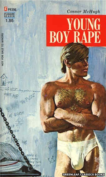 Pleasure Reader PR396 - Young Boy Rape by Connor McHugh, cover art by Savage (1973)