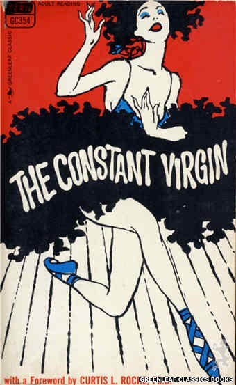 Greenleaf Classics GC354 - The Constant Virgin by Anon, cover art by Unknown (1968)