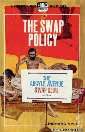 Companion Books CB665 - The Swap Policy by Richard Kyle, cover art by Robert Bonfils (1970)