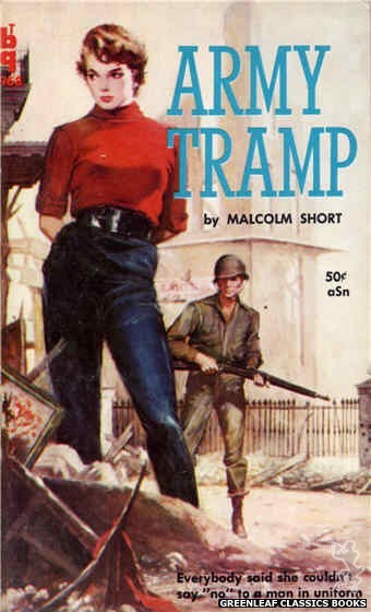 Bedside Books BTB 968 - Army Tramp by Malcolm Short, cover art by Unknown (1960)
