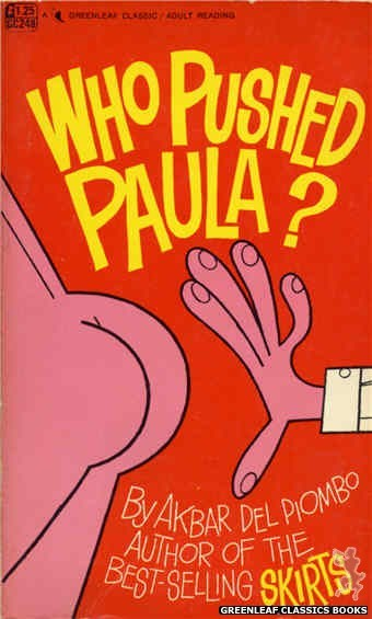 Greenleaf Classics GC248 - Who Pushed Paula? by Akbar Del Piombo, cover art by Unknown (1967)