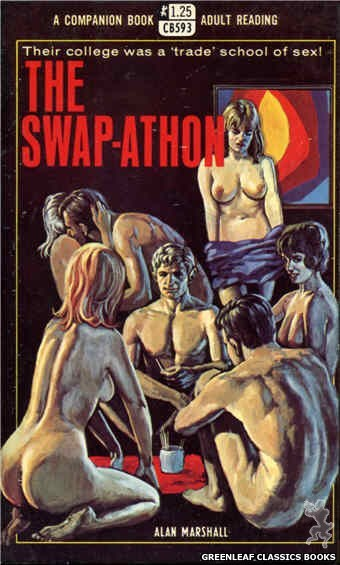Companion Books CB593 - The Swap-Athon by Alan Marshall, cover art by Ed Smith (1968)