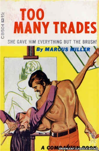 Companion Books CB504 - Too Many Trades by Marcus Miller, cover art by Tomas Cannizarro (1967)