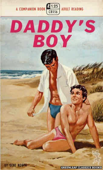 Companion Books CB556 - Daddy's Boy by Gene North, cover art by Darrel Millsap (1968)