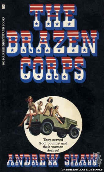 Reed Nightstand 4003 - The Brazen Corps by Andrew Shaw, cover art by Ed Smith (1974)