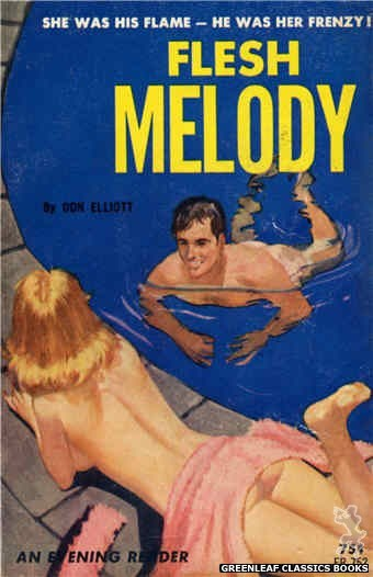 Evening Reader ER752 - Flesh Melody by Don Elliott, cover art by Unknown (1964)