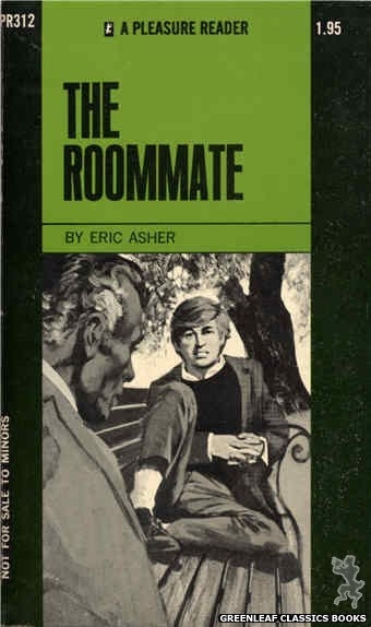 Pleasure Reader PR312 - The Roommate by Eric Asher, cover art by Unknown (1971)